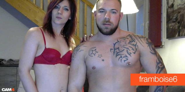 coppia webcam esibizionisti - framboise6