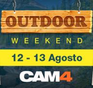 OUTDOOR weekend dal 12 al 13 agosto – sesso all'aperto live su CAM4!