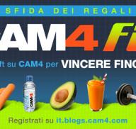 CAM4 FIT: Iscriviti al Gift Contest, 200$ in palio