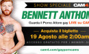 GINGER EXPLOTION: in esclusiva per CAM4 porno show live feat. BENNETT ANTHONY!