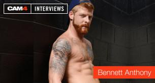 Sexy intervista al porno attore rosso Bennett Anthony