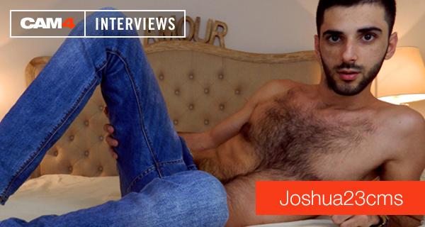 Performer CAM4: la sexy intervista al dotato JOSHUA23CMS