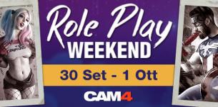 #RolePlay Weekend – Questo Weekend Lo Famo Strano Su CAM4!