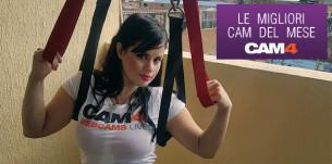 """Dopo l'inizio dell'autunno arrivano le Cam Erotiche più """"godute"""" su CAM4 a settembre!"""