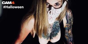 Halloween in corso su CAM4 – Ecco alcuni degli scatti più freaky e… sexy!