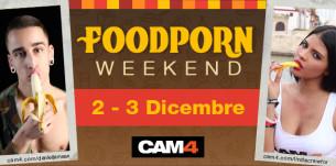 #FoodPorn weekend – I gustosi show a tema del 2 e 3 Dicembre