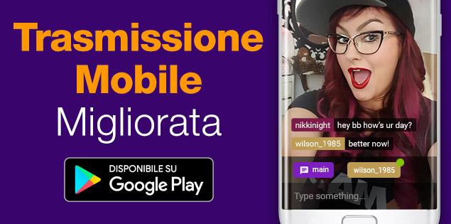 C4 Broadcaster App – Modalità panoramica ora disponibile!