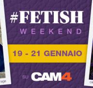 Siate perversi, unitevi al Fetish Weekend di CAM4!