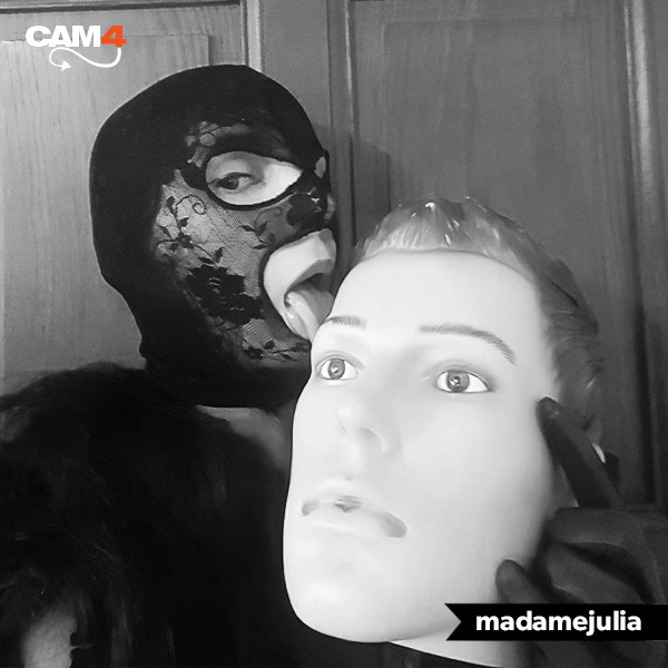 madamejulia - fetish mask