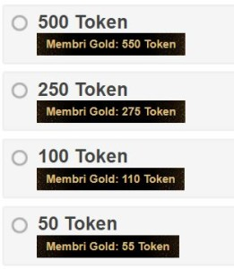 token offer