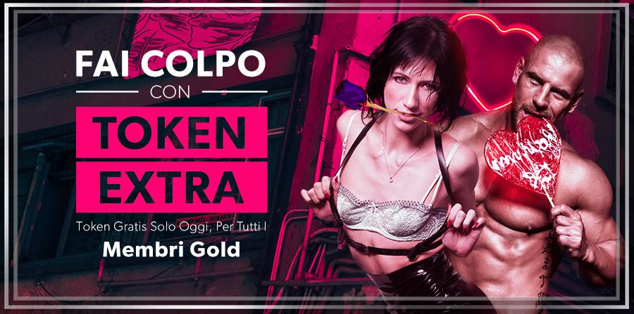 Ottieni il 10% dei Token  in Regalo!  In Esclusiva per i Membri Gold