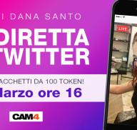 Vinci TOKEN GRATIS! Estrazione in diretta Twitter dei vincitori con DANA SANTO!»
