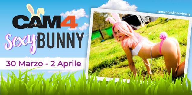Weekend lungo? Trascorri le feste in compagnia dei nostri sexy bunny e delle nostre conigliette sexy!
