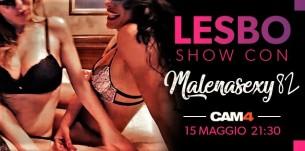 Malenasexy82 in un Lesbo Show con una sua amica! Martedì sera su CAM4