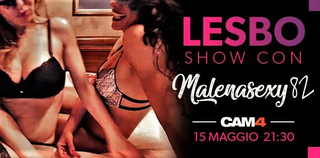 Malenasex82 in un Lesbo Show con una sua amica! Martedì sera su CAM4