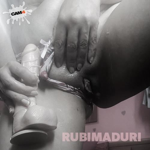 rubimaduri - dildo wet