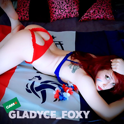 GLADYCE_FOXY - sexy francia worldcup