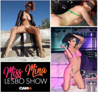Miss Mina con Sally Blu Sexy Star – Segui l'esclusivo Lesbo Show in diretta su CAM4!