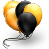 balloons-gold