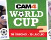 Parte la maratona di sexy show a tema Mondiali: divise, scarpe da training, calzoni, palle...