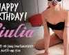 GiuliaSexy1 festeggia facendosi rompere il culo da uno sconosciuto!