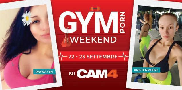 Questo weekend CAM4 diventa una Palestra Porno in Diretta!