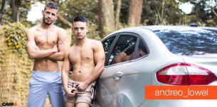 Bellissimi e sempre eccitati: scopri la coppia gay latina Andreo_Lowel