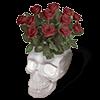 skull-bouquet