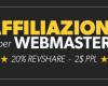 Guadagna denaro con il nuovo Programma di Affiliazione CAM4 per WEBMASTER