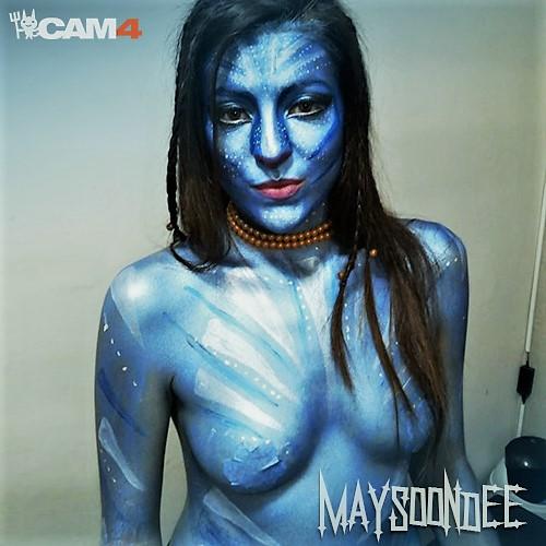 maysoondee halloween cam4