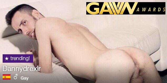 "GayVN Awards 2019: DannyDrexlr in nomination nella categoria ""Favourite Webcam Boy"""