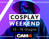 Hai un fetish per il COSPLAY? Weekend Porno in arrivo su CAM4!