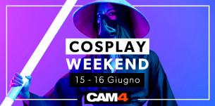 Hai un fetish per il COSPLAY? Weekend Porno in arrivo su CAM4!