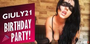 Giuly21 Festeggia con uno Show XXX Venerdì 23 Agosto!